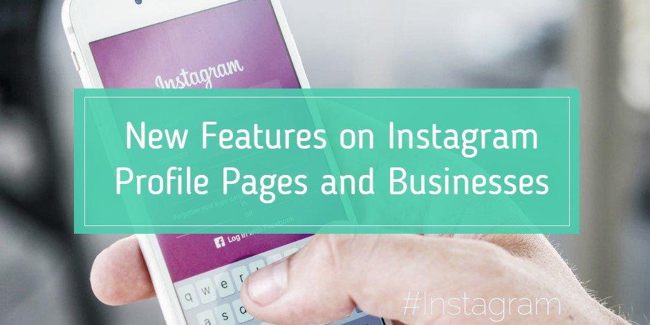 instagram business features