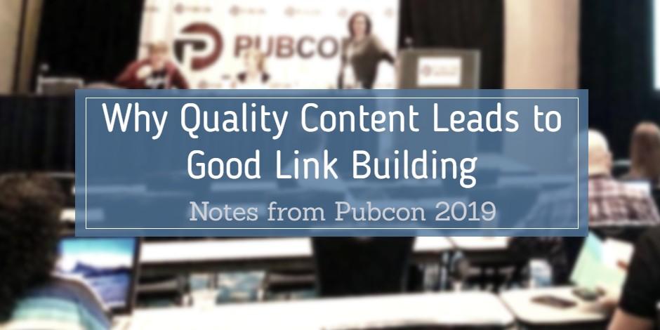 link building pubcon